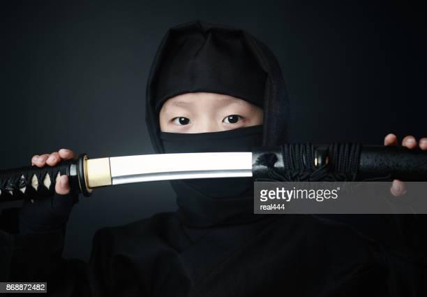Boy in Ninja costume