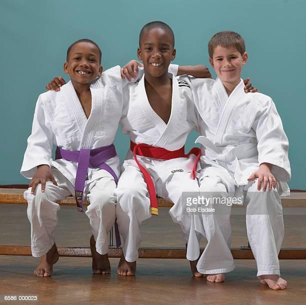 Boy Judoists