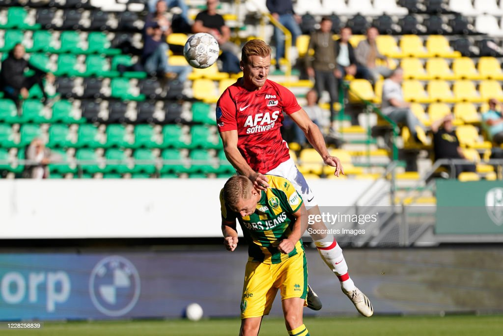 Boy Kemper Of Ado Den Haag Dani De Wit Of Az Alkmaar During The Club News Photo Getty Images