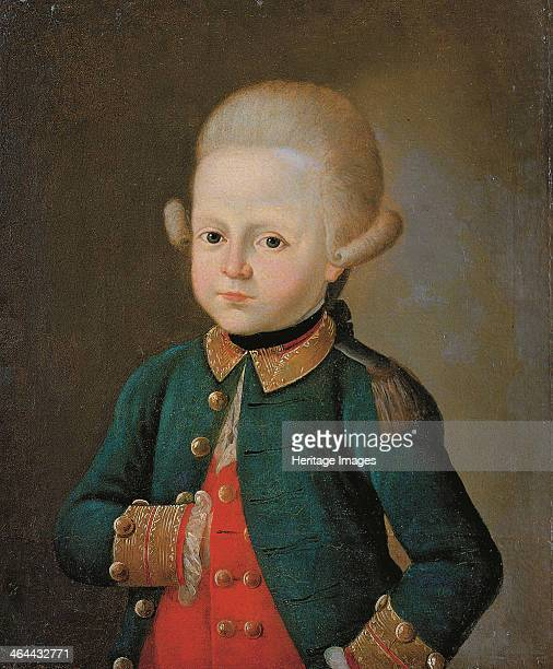 Boy Lance Corporal of the Preobrazhensky Regiment End 1760s Found in the collection of the State History Museum Moscow
