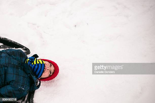 """boy laughing in the snow - """"danielle donders"""" stock pictures, royalty-free photos & images"""