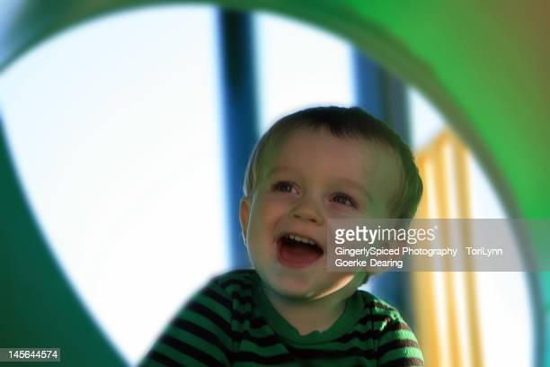 boy laughing - lynn pleasant photos et images de collection