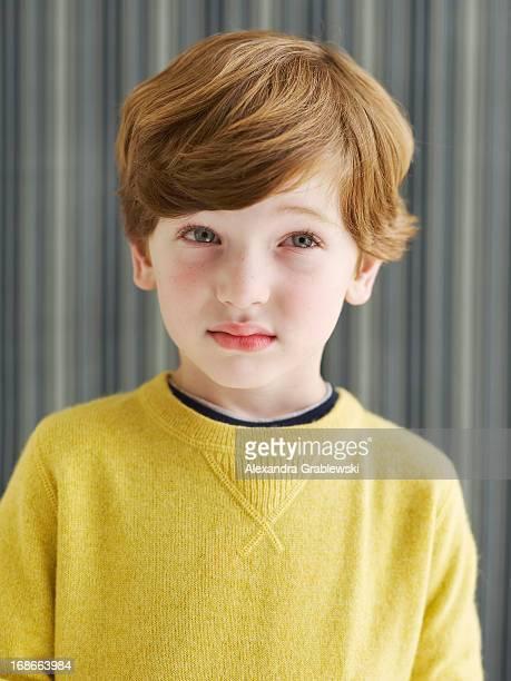 Boy Looking Unsure