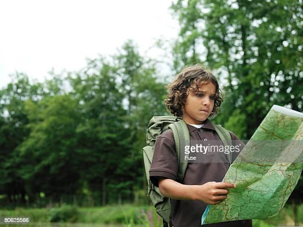 Boy Lost in Wilderness