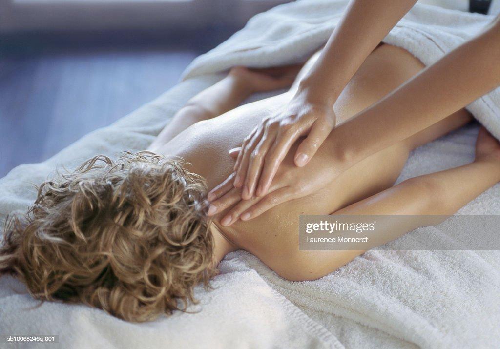 Boy massage