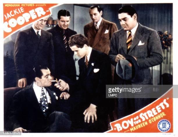 Boy Of The Streets lobbycard Jackie Cooper Matty Fain 1938