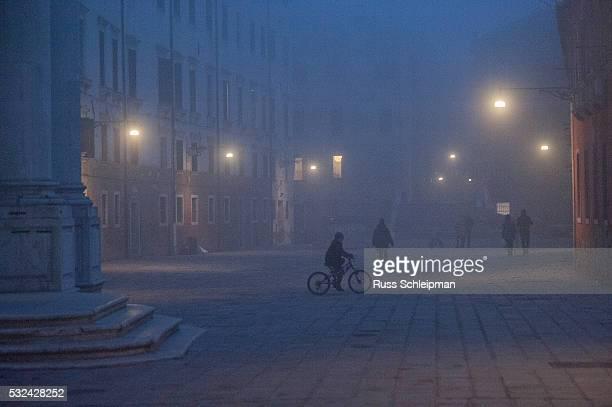 boy on bicycle, Venice