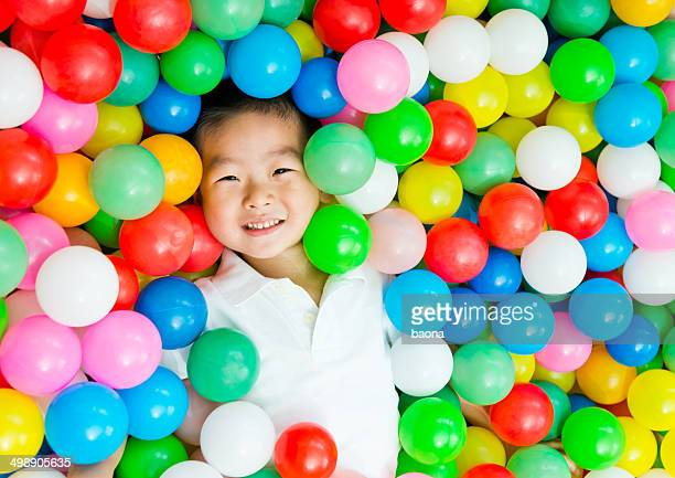 boy on the balls