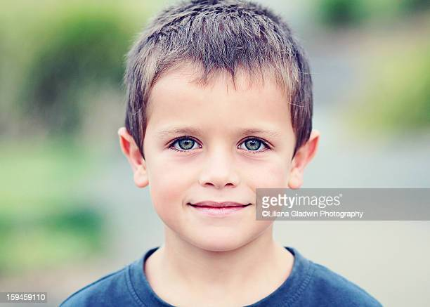 a boy - blue eyes stock pictures, royalty-free photos & images