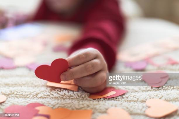 boy - valentine card stock photos and pictures