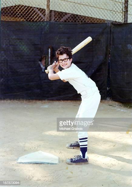 Boy plaking baseball
