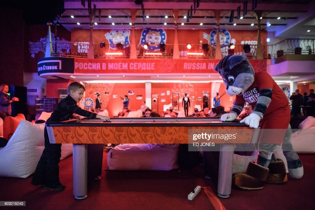 TOPSHOT-RUS-OLY-2018-FSKATING : News Photo