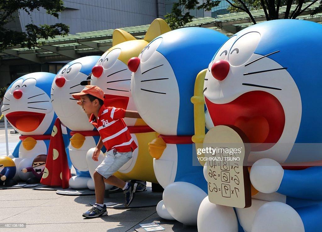 JAPAN HOLIDAY CARTOON DORAEMON