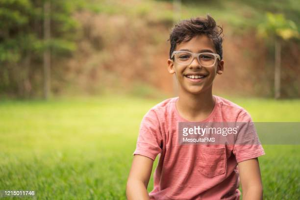 boy portrait in nature - day stock pictures, royalty-free photos & images