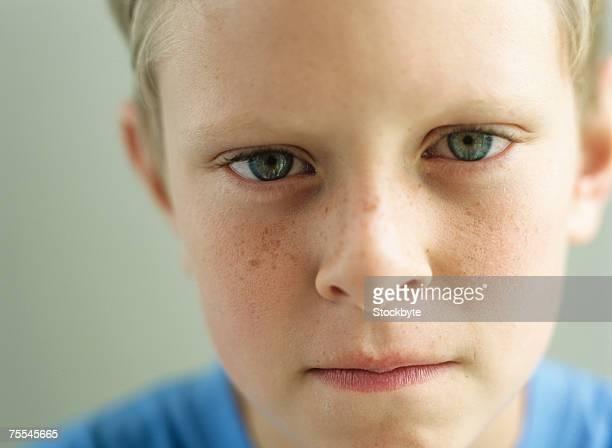 Boy (10-11),portrait,close-up