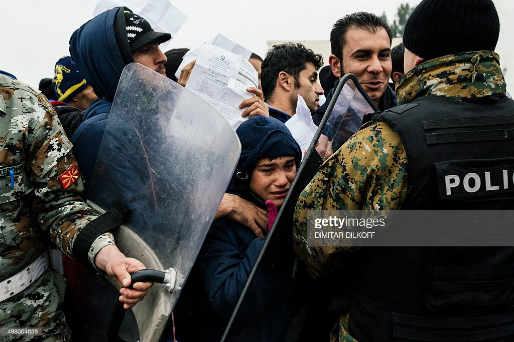 MACEDONIA-GREECE-EUROPE-MIGRANTS : News Photo