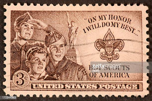 Boy Scouting stamp 1950