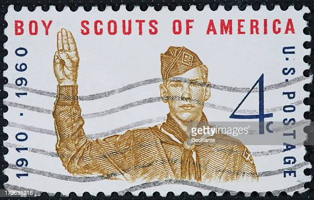 Boy Scouts stamp