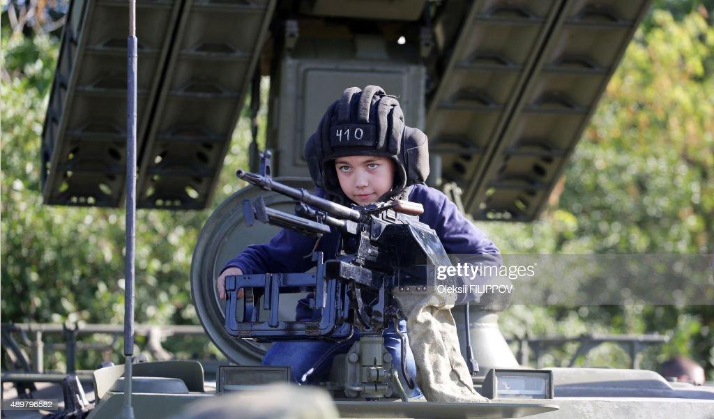 UKRAINE-RUSSIA-CRISIS-ARMY : News Photo