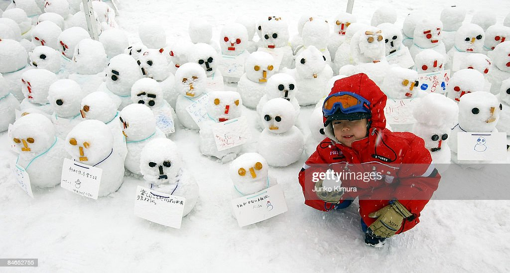 Sapporo Snow Festival 2009 To Open In Japan : ニュース写真