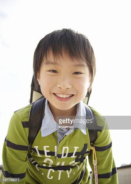 boy smiling - 男子生徒 ストックフォトと画像