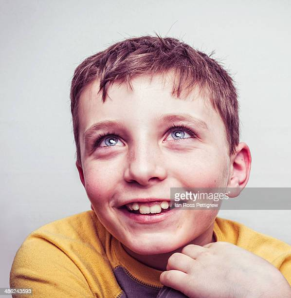 Boy smiling