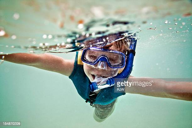 Boy Snorkelling - 0216