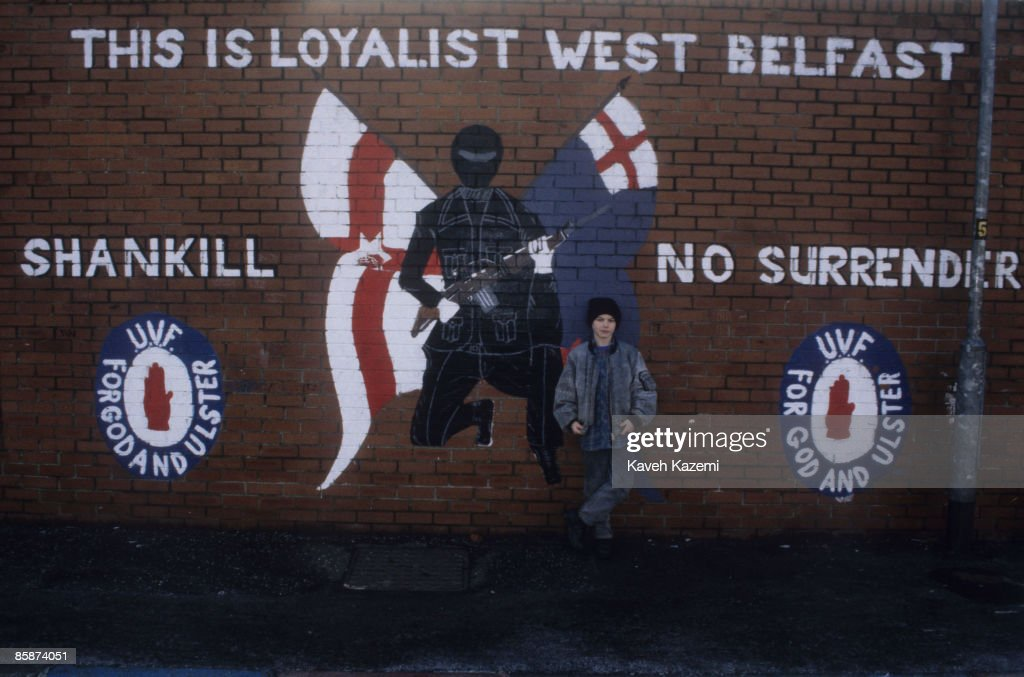 Loyalist West Belfast : News Photo