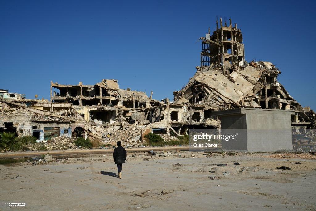 Deprivation And Destruction Remain Widespread In Libya : Nachrichtenfoto