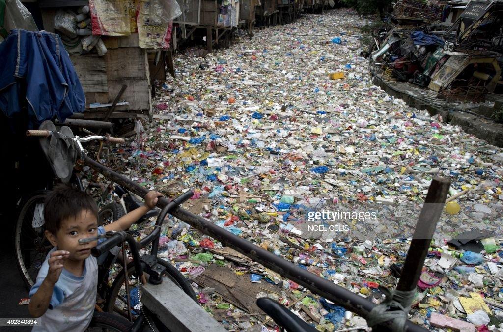 PHILIPPINES-THEME-POLLUTION : News Photo