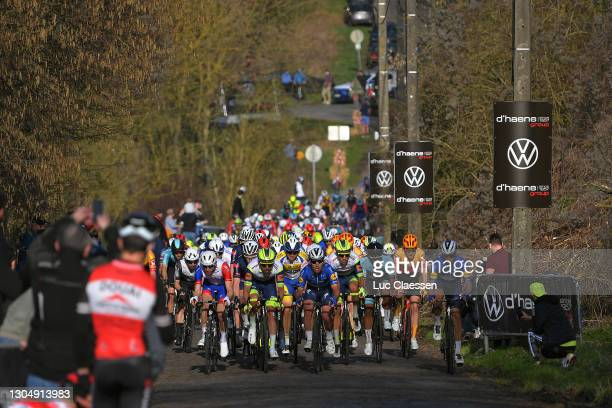 Boy van Poppel of The Netherlands and Team IntermarchŽ-Wanty-Gobert MatŽriaux, Mark Cavendish of The United Kingdom and Team Deceuninck - Quick-Step,...