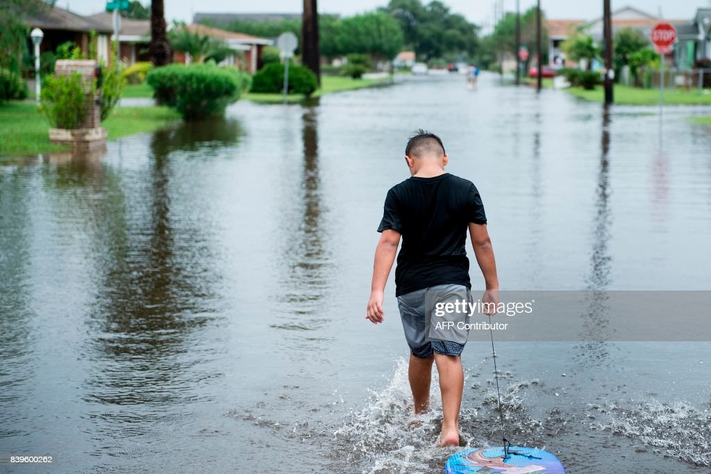 US-WEATHER-STORM-HARVEY : News Photo