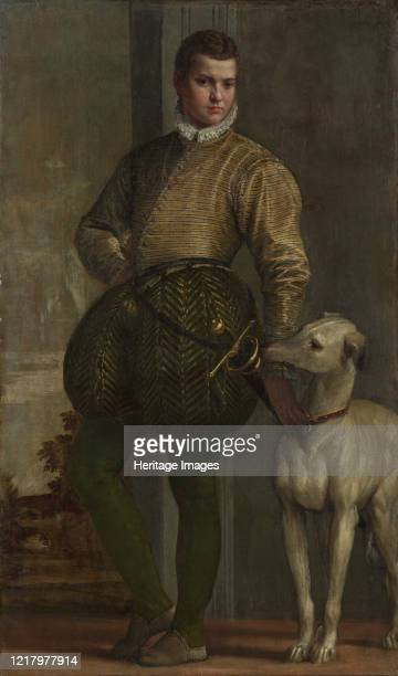 Boy with a Greyhound, possibly 1570s. Artist Paolo Veronese.
