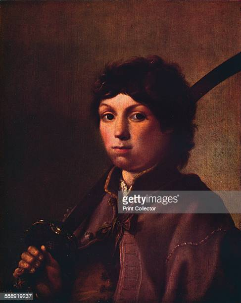 'A Boy with a Sabre' c17th century From The Connoisseur Volume 95 edited by Edward Wenham [International Studio London 193435]