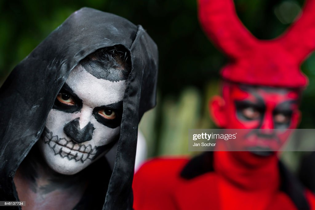 Day Of The Dead Celebration In El Salvador : News Photo