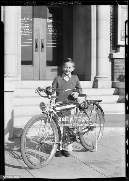 Boy with Bicycle 1934