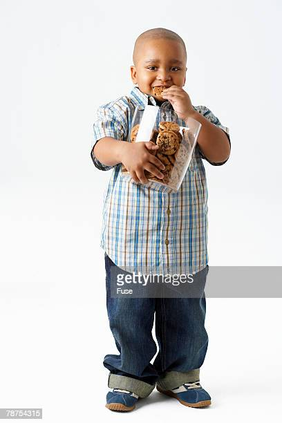 Boy with Jar of Cookies