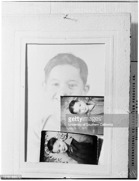Boy Writes Mother Via Biscailuz 20 December 1951 Mrs Yuba Thee BrewerWanda Lareah Brewer 18 yearsEarl Wayne Brewer 10 years Caption slip reads...