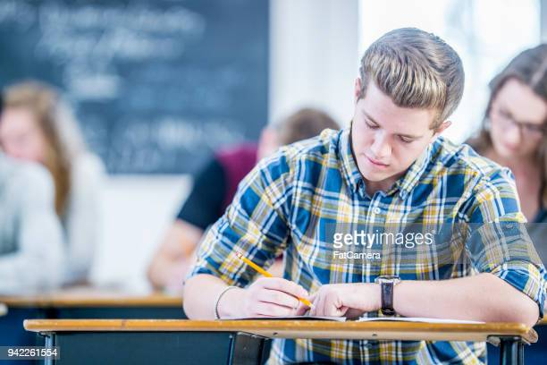 Boy A Schreibtest