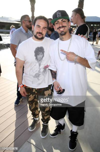 Boyboy West Coast and guest attend Republic Records Celebrates Their Class Of 2019 In Coachella Valley at Zenyara on April 14 2019 in Coachella...