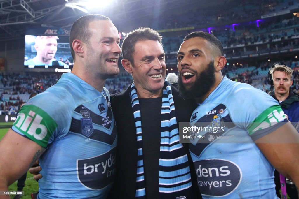 State Of Origin II - NSW v QLD : News Photo