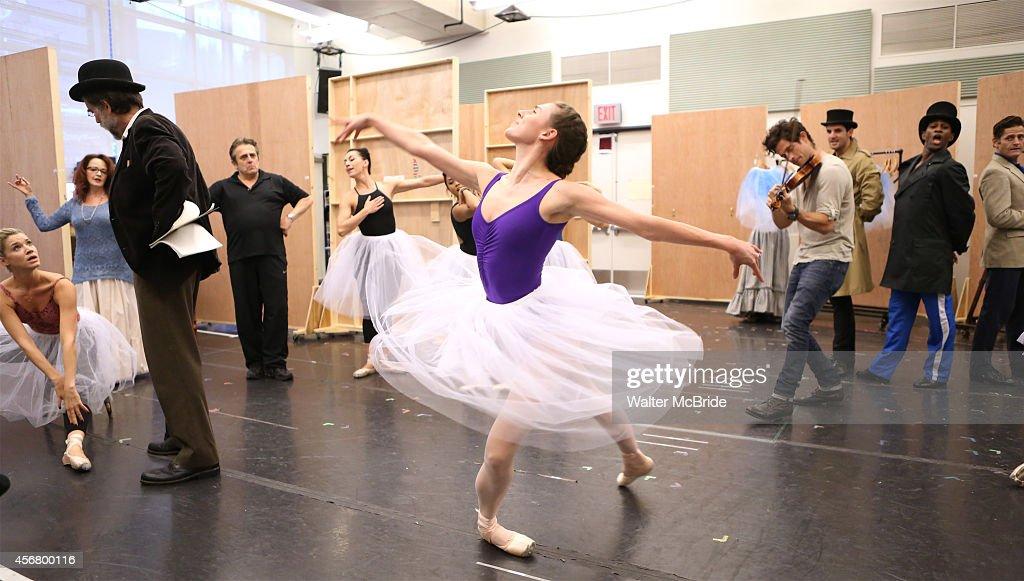 """""""Little Dancer"""" Media Day : News Photo"""