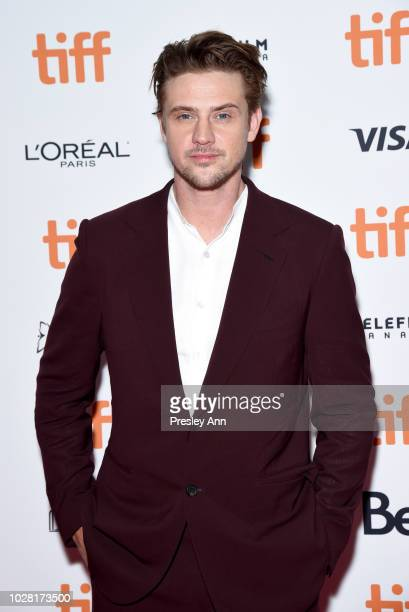 Boyd Holbrook attends the The Predator premiere during the 2018 Toronto International Film Festival at Ryerson Theatre on September 6 2018 in Toronto...