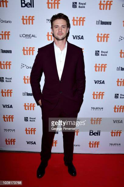 """Boyd Holbrook attends the """"The Predator"""" premiere during the 2018 Toronto International Film Festival at Ryerson Theatre on September 6, 2018 in..."""