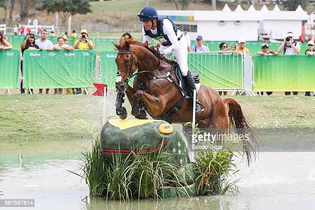 Boyd MARTIN BLACKFOOT MYSTERY during the Cross Country Event on Day 3 on Olympic Games 2016 at Olympic Equestrian Centre on August 9 2016 in Rio de...