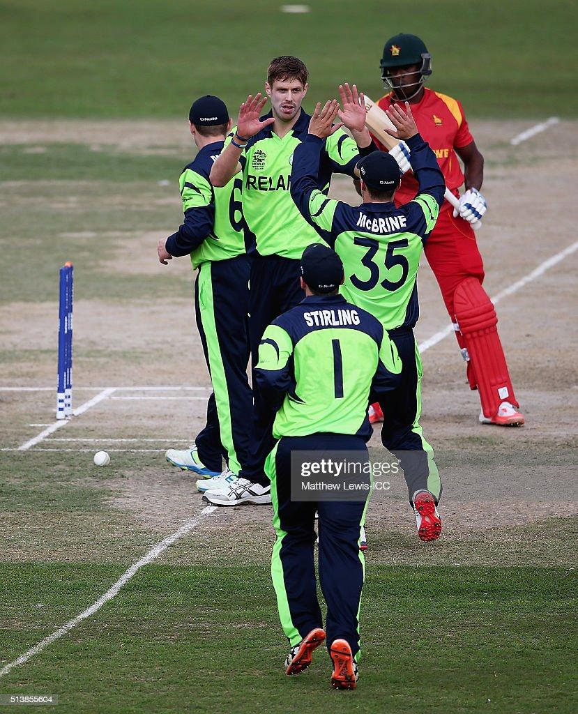 ICC Twenty20 World Cup: Ireland v Zimbabwe Warm Up