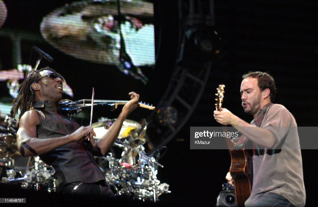 Dave Matthews Band In Central Park -The AOL Concert For Schools - Show