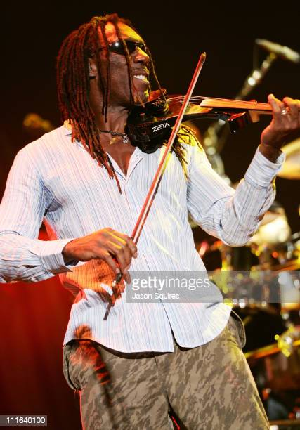 Boyd Tinsley of Dave Matthews Band during Dave Matthews Band Stand Up 2005 Summer Tour Opener in St Louis June 1 2005 at UMB Bank Pavilion in...