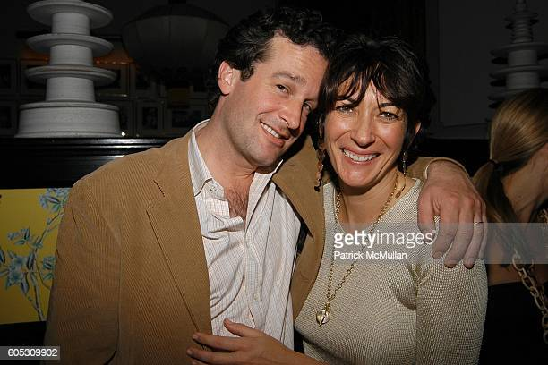 Boykin Curry and Ghislaine Maxwell attend ABY ROSEN Birthday Celebration at Chinatown Brasserie on May 15 2006 in New York City