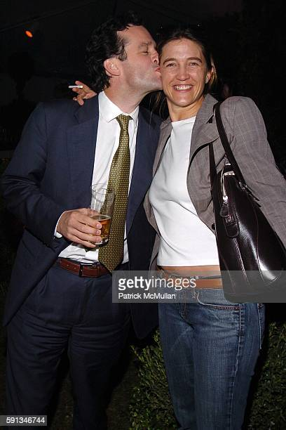 Boykin Curry and Vanessa von Bismarck attend Launch Party for Conde Nast's new home shopping magazine 'domino' at Skylight Studios on April 12 2005...